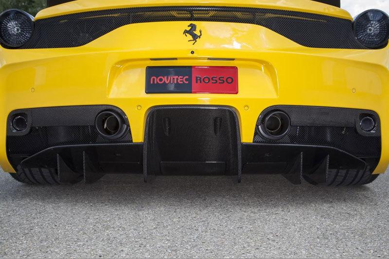Карбоновый диффузор для Ferrari 458 Speciale