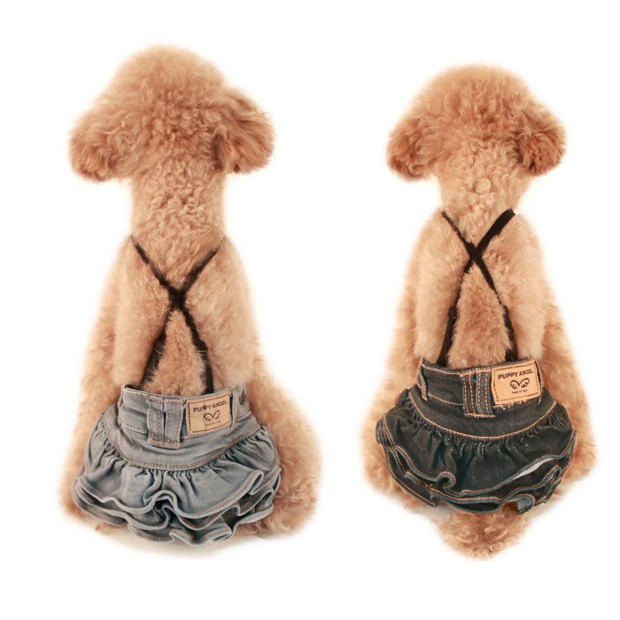 278 PA - Джинсовые юбки для собак