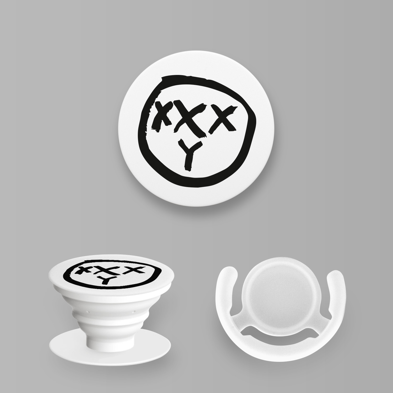 Попсокет с лого OXXXY белый