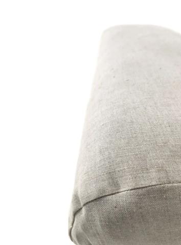 Болстер для йоги прямоугольный Айенгара, лен 60 см