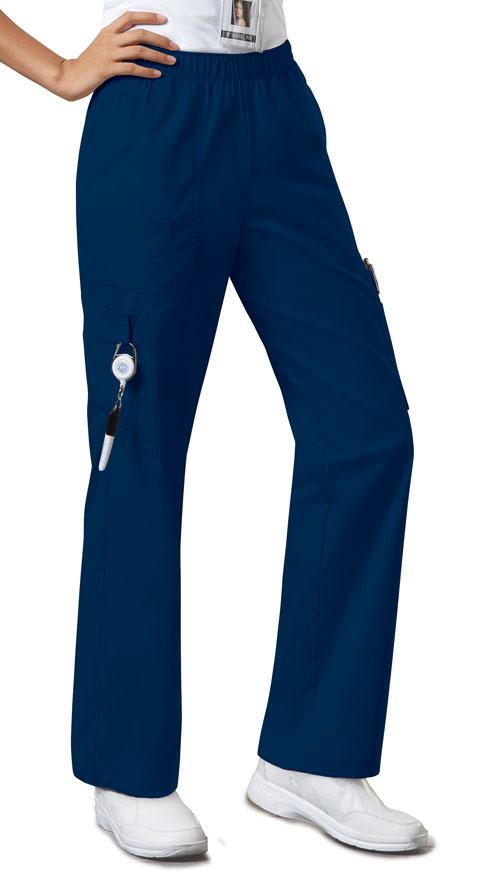 Брюки унисекс на высокий рост темно-синего цвета Cherokee Workwear