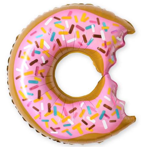 Пончик розовый, надкусанный, 66 см