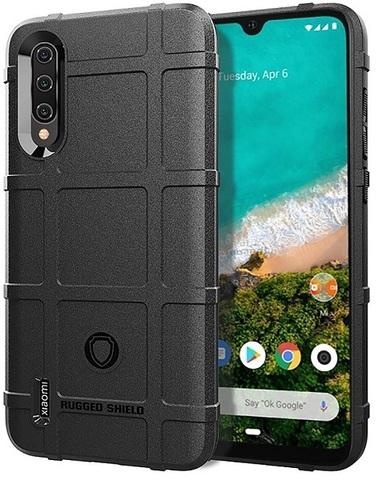Чехол для Xiaomi Mi A3 (CC9E) цвет Black (черный), серия Armor от Caseport
