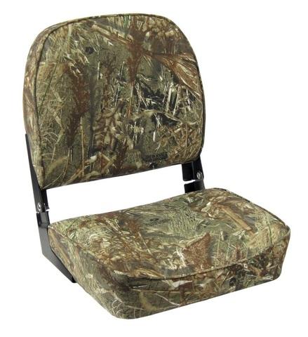 Сиденье мягкое складное ECONOMY с низкой спинкой, камуфляж