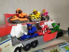Набор игрушек щенячий патруль paw patrol база спасателей