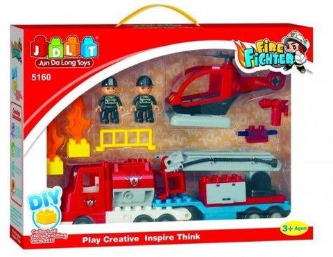 Конструктор  Пожарные спасатели 20 деталей (5160)