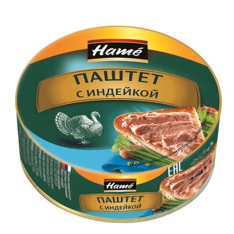 Паштет Hame деликатесный с индейкой, 250г