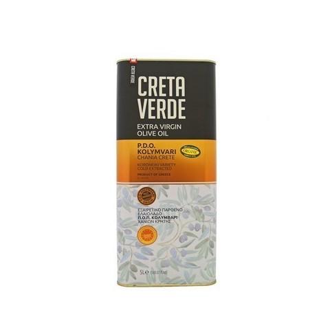 Оливковое масло CRETA VERDE с острова Крит PDO 5 л металл
