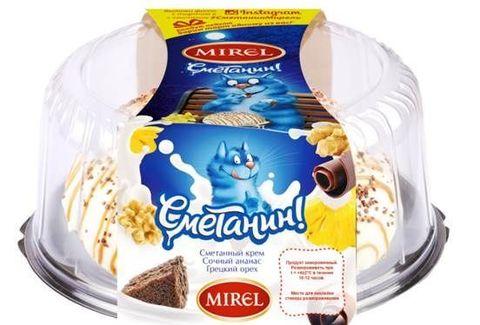 "Торт ""Сметанин"" Mirel 800 г"