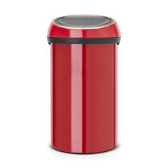 Мусорный бак Touch Bin (60 л), Пламенно-красный