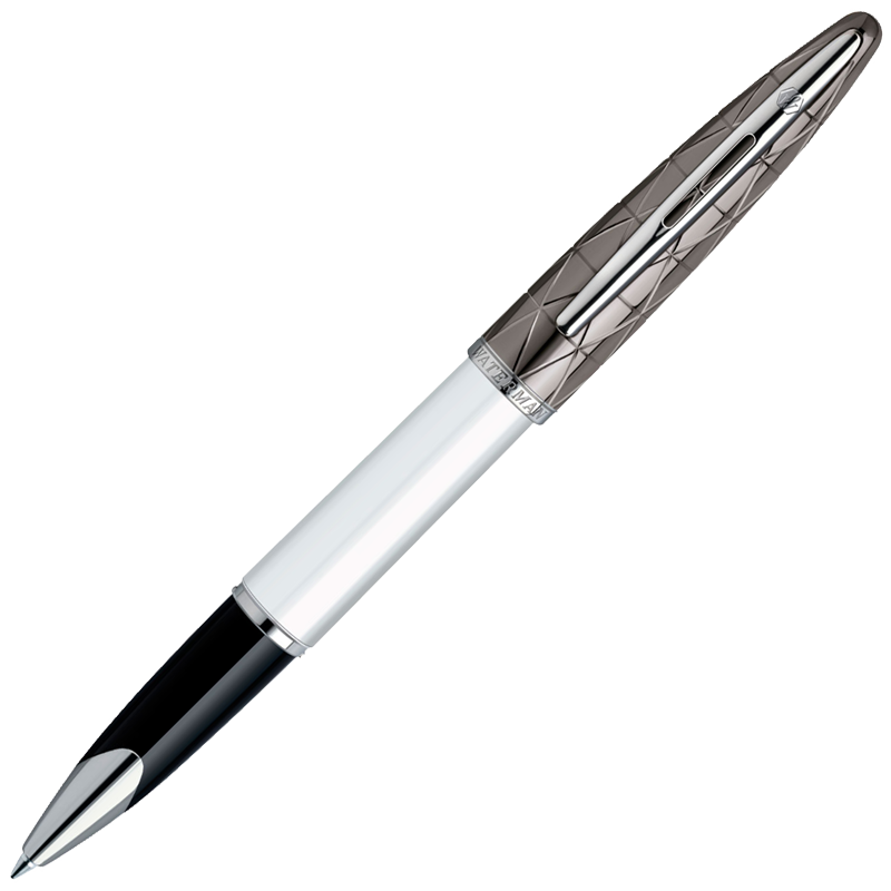 Waterman Carene - Contemporary White ST, ручка-роллер, F, BL