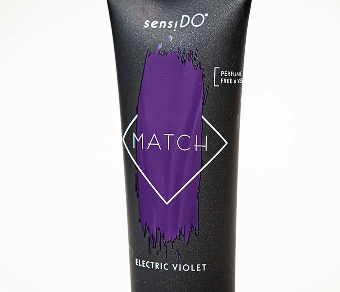 CARE165-4 Оттеночный бальзам для волос SensiDO Match Electric Violet (фиолетовый, 125 мл) фото 02