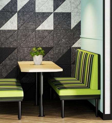 Стеновые  полиэфирные плитки Tangram