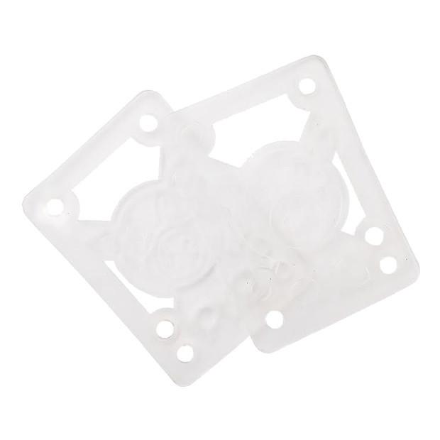 Подкладки под подвеску скейта PIG Piles Soft Shockpads (Clear)