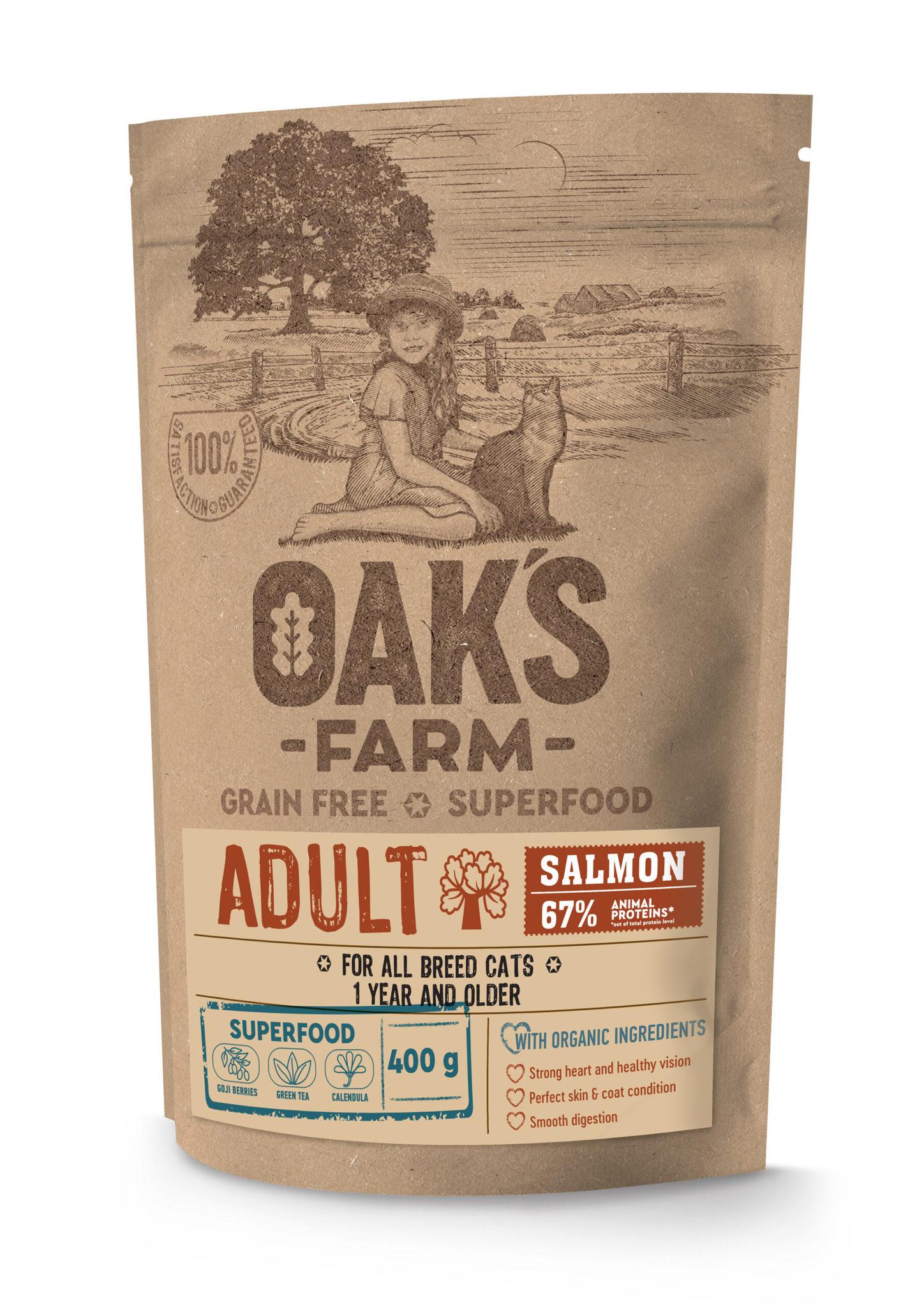 Купить OAKS FARM GF Cat Salmon