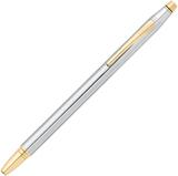 Перьевая ручка Cross Century Classic хром c позолотой 23К Перо F 23Ct (AT0086-75FF)