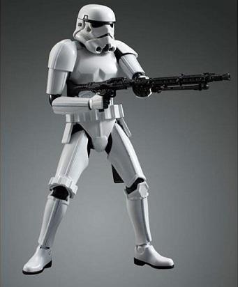 Star Wars 1/12 Scale Model Kit Stormtrooper
