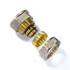 Муфта обжимная для металлопластиковых труб 26*1 внутренняя  резьба Valve