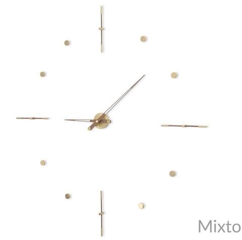 Настенные часы Mixto G латунь-орех 125 cm