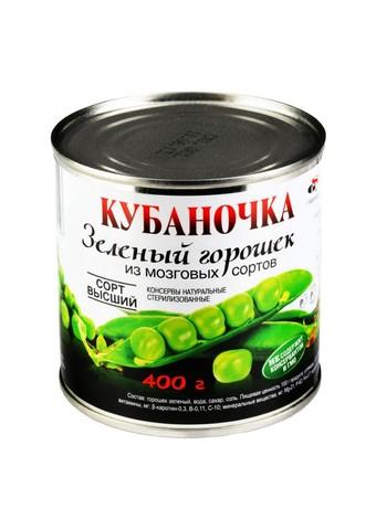 Горошек зеленый Кубаночка МИНИМАРКЕТ 0,45кг