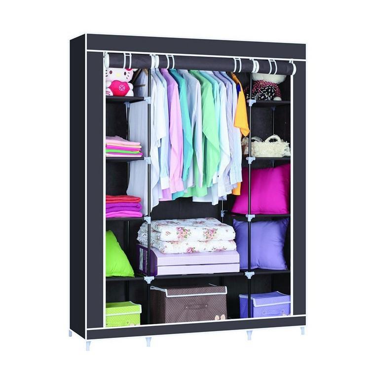 Системы для хранения вещей, органайзеры и кофры для одежды и обуви Складной каркасный тканевый шкаф Wardrobe Closet skladnoy-karkasnyy-tkanevyy-shkaf-wardrobe-closet.jpg