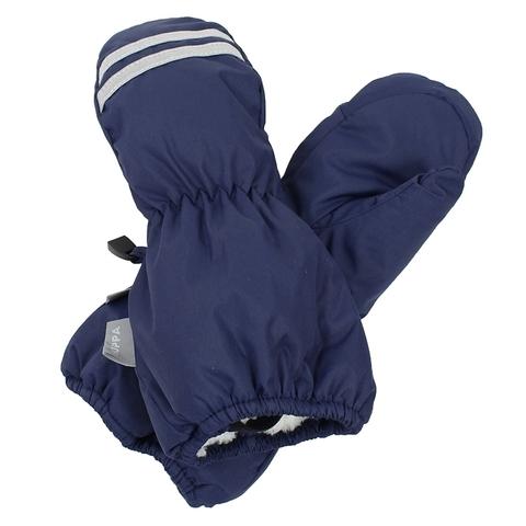 Зимние варежки HUPPA ROY для мальчика темно-синий