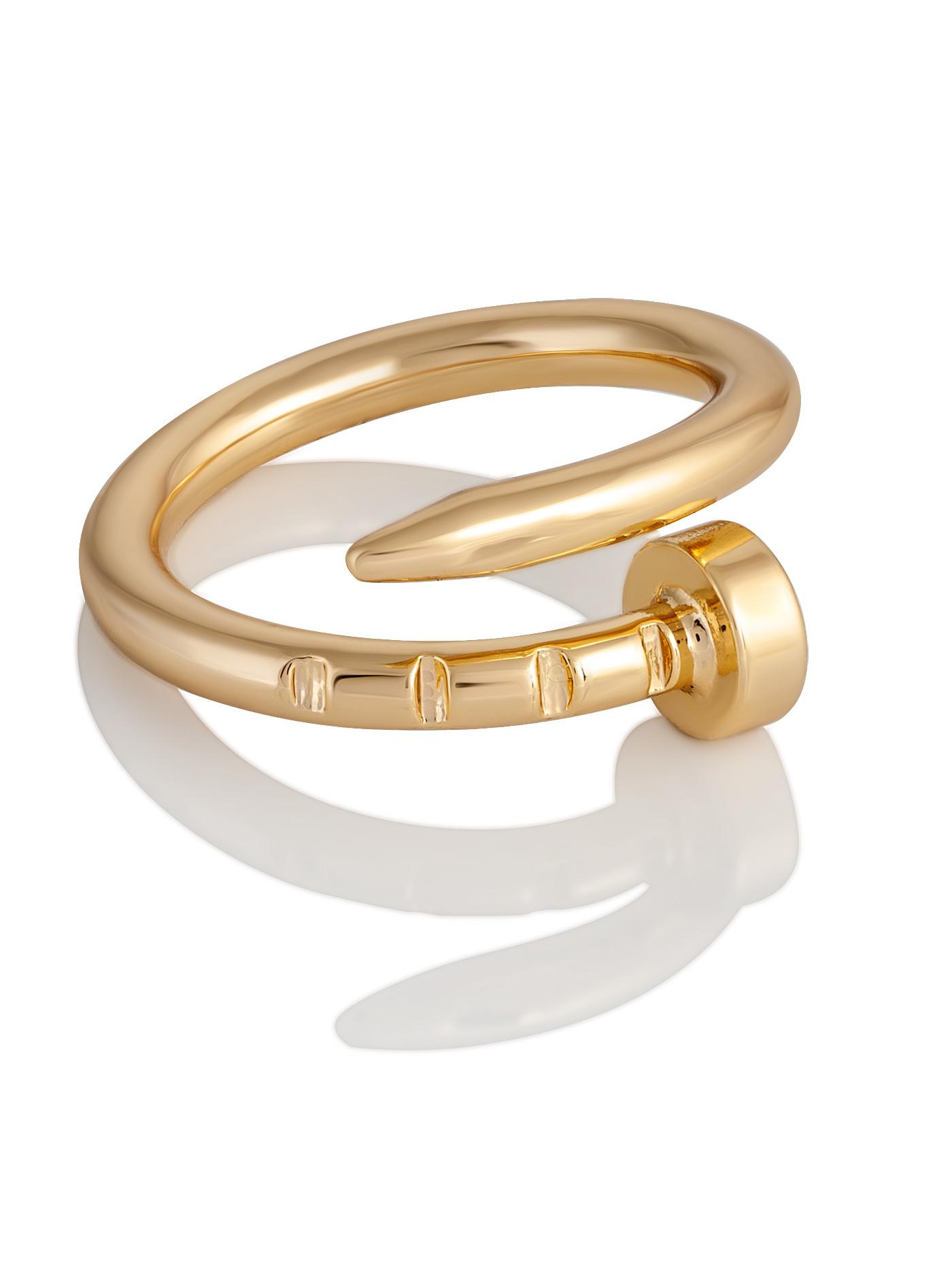 Дизайнерское кольцо Гвоздь в подарочной коробке