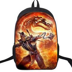 Мортал Комбат рюкзак Скорпион