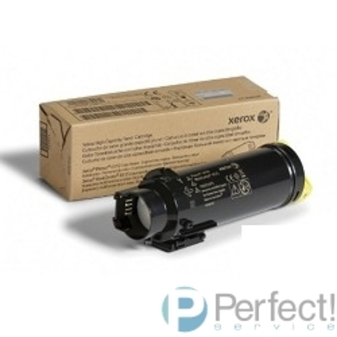 XEROX 106R03487 Тонер-картридж повышенной емкости для Phaser 6510/6515 жёлтый, 2400 стр.