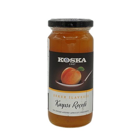Варенье абрикосовое без сахара KOSKA, 290 гр