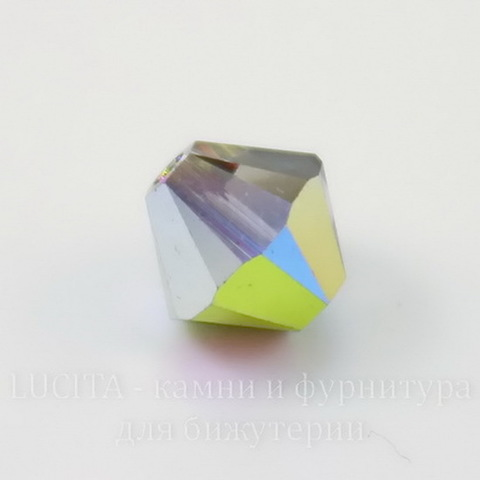 5328 Бусина - биконус Сваровски Crystal Vitrail Medium  4 мм, 10 штук (large_import_files_f6_f6f8b874874e11e3bb78001e676f3543_7f4e65cd994849349c75fdaa57101dad)