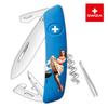 Швейцарский нож SWIZA D03 LE Summer 2018, 95 мм, 11 функций (подар. упак.)