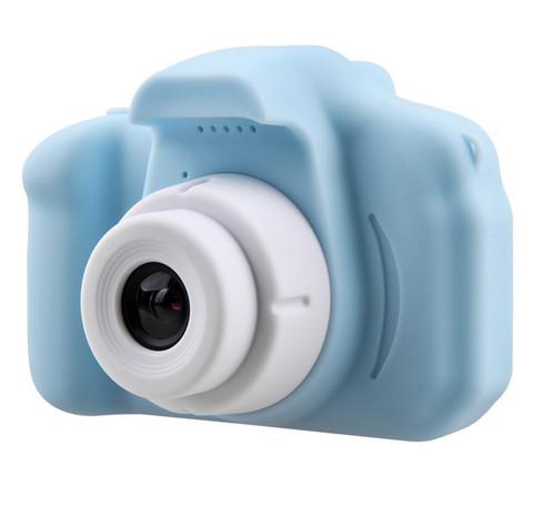 Детский цифровой фотоаппарат голубой