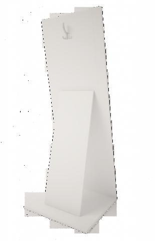 Зеркало напольное Виктория 8 Ижмебель белый глянец