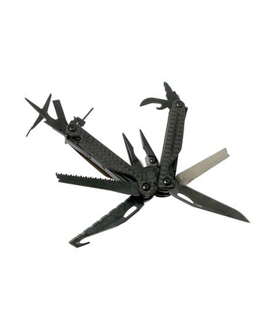 Мультитул Leatherman Charge Plus G10, 17 функций, серо-коричневый, нейлоновый чехол