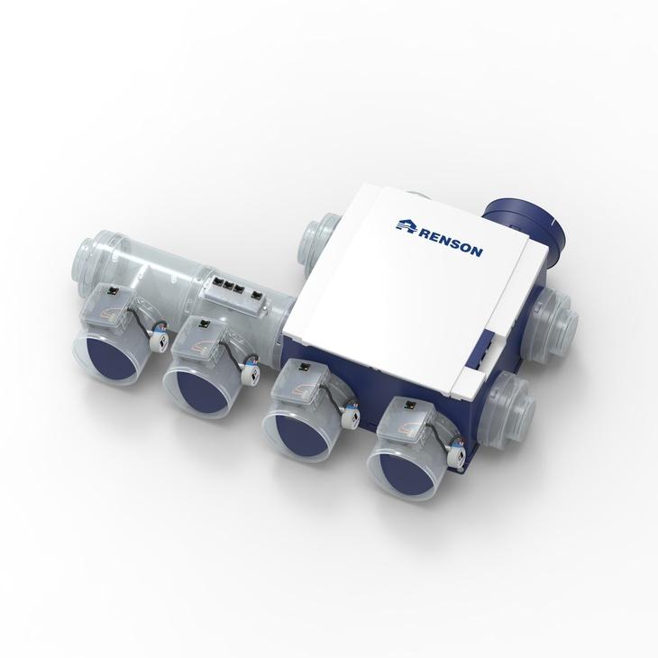 Адаптивная система вентиляции HELTHBOX 3.0 VILPE