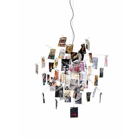 Подвесной светильник копия Zettel'z by Ingo Maurer by Ingo Maurer (разноцветный)