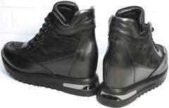 Сникерсы ботильоны модные Evromoda 965 Black