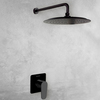 Встраиваемый смеситель для душа с душевым комплектом ALEXIA K3618012NM черный, на 1 выход - фото №2