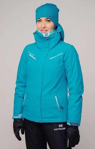 Горнолыжная куртка Nordski Extreme blue W женская