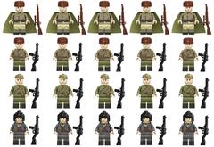 Минифигурки Военных Советская Армия в ассортименте серия 417