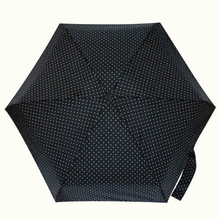 Зонт микро Guy de Jean 5002-15 Pois blancs