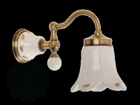 Светильник настенный плафон керамика с декором Migliore Provance ML.PRO-60.531