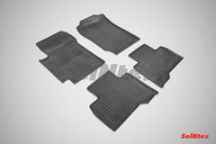 """Резиновые коврики """"Сетка"""" для Grand Vitara III 5-dr (c 2005)"""
