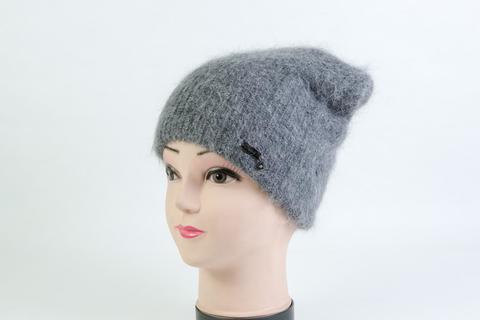 Женская шапка серая SH SD03