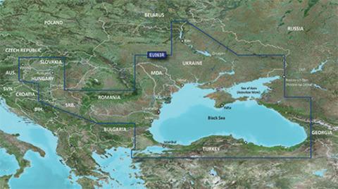 Карта GARMIN ЧЕРНОЕ МОРЕ, АЗОВСКОЕ МОРЕ g3 HXEU063R