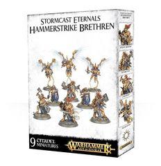 Stormcast Eternals Hammerstrike Brethren. Коробка