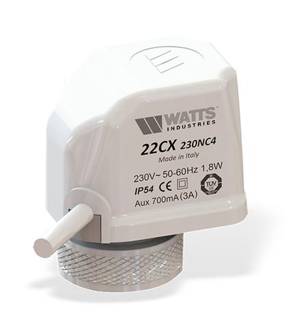 Сервопривод Watts 22CX230NC2 (220В) нормально закрытый арт. 10029671