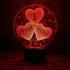 Три сердца I LOVE YOU