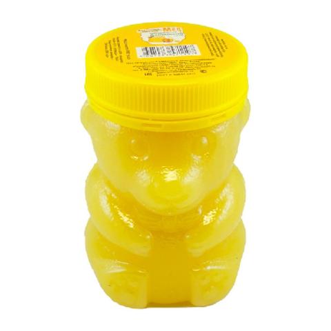 Мёд натуральный «Подсолнечниковый» ПЭТ медведь, 450 гр